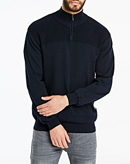 Peter Werth Zip Neck Jumper