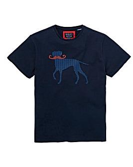 Bewley & Ritch Navy John T-Shirt Regular