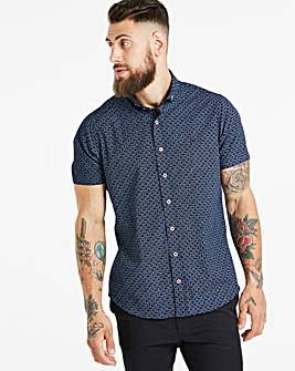 Bewley & Ritch Navy Bryant S/S Shirt R