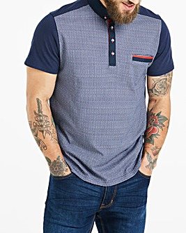 Bewley & Ritch Navy Barr Polo Regular