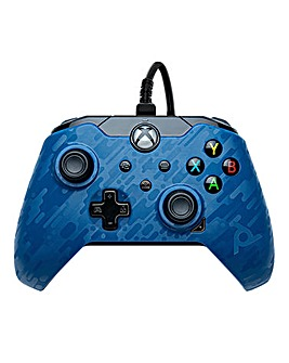 Wired Controller - Blue Camo (Xbox One/Series X)