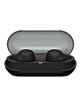 Sony WFC500 True Wireless Headphones - Black