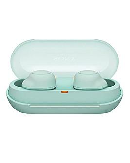 Sony WFC500 True Wireless Headphones - Green
