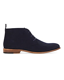 Suede Look Chukka Boot Standard Fit