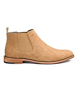 Suede Look Chelsea Boot