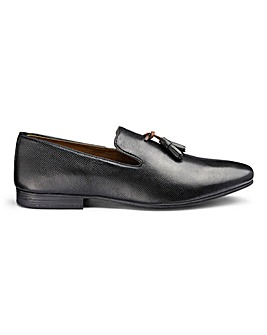Burton Rivett Embossed Leather Loafers Standard Fit.