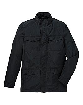 Black Nylon Jacket Regular Length