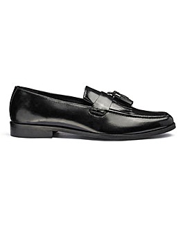 Jacamo Leather Loafers Standard Fit