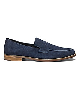 Flintoff By Jacamo Suede Loafers