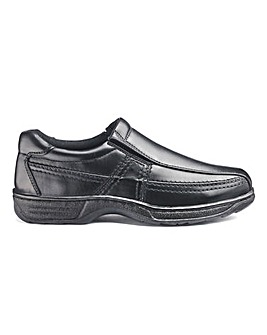 Cushion Walk Slip On Shoe Wide Fit