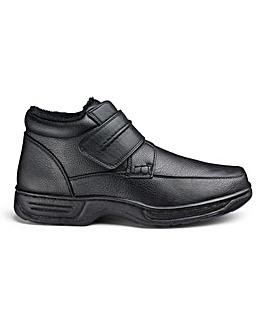 Cushion Walk Zip Boots Wide Fit