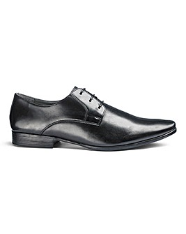 Leather Gibson Derby Shoes Standard Fit