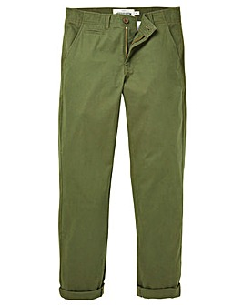 Capsule Khaki Stretch Tapered Chino 33in