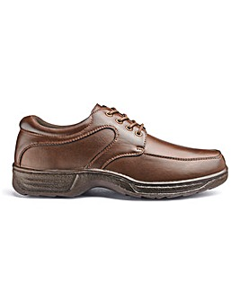 Cushion Walk Lace Up Shoe Wide Fit