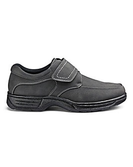 Cushion Walk Easy Fasten Shoe Wide Fit