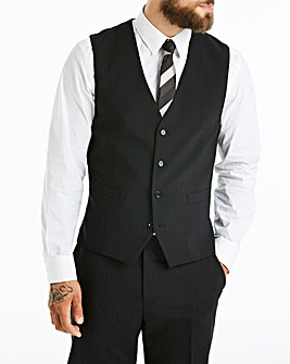 Skopes Black Stripe Darwin Suit Wcoat R