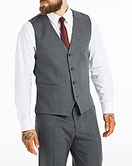 Skopes Grey Darwin Suit Wcoat Reg