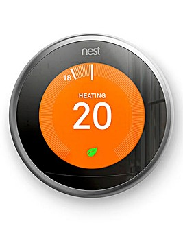 Google Nest Stainless Steel Learning Thermostat