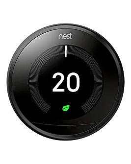 Google Nest Black Learning Thermostat