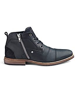 Dune Captain Toe Cap Zip Boots