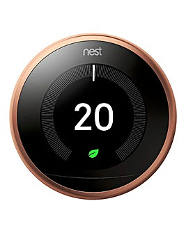 Google Nest Copper Learning Thermostat