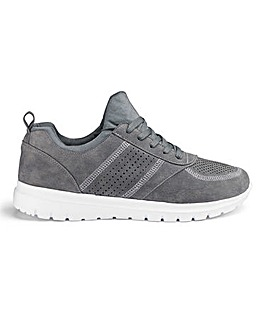 Cushion Walk Lace Up Trainer