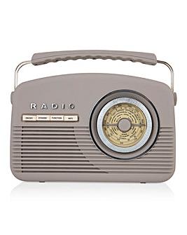 Akai DAB Vintage Radio