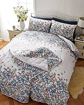 Malinda Chambray Duvet Cover Set