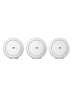 BT Premium Whole Home Wi-Fi Three Discs