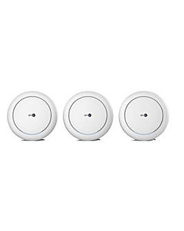 BT Premium Whole Home Wi-Fi Three Discs