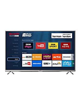 Sharp 49in 4K Ultra HD Smart TV