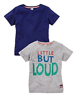 KD MINI Boys Pack of Two Tops (2-6 yrs)
