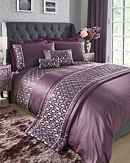 Crystal Amethyst Duvet Cover Set