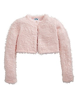 KD MINI Girls Fluffy Shrug (2-6 yrs)