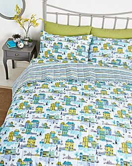 Helena Springfield Hometown Parade Quilted Bedspread