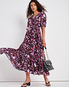 Joanna Hope Tie Waist Midi Dress