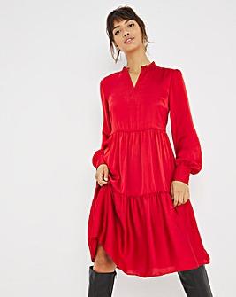 Joanna Hope Satin Swing Dress