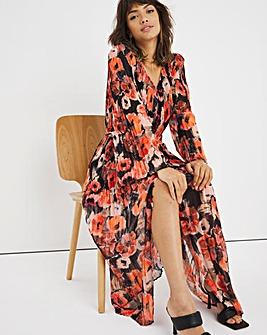 Joanna Hope Print Pleated Dress