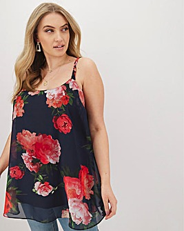 Joanna Hope Print Swing Cami