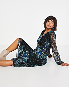 Joanna Hope Floral Print Dress