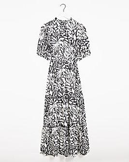Joanna Hope Mono Print Maxi Dress