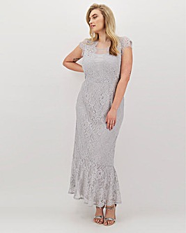Joanna Hope Lace Column Maxi Dress