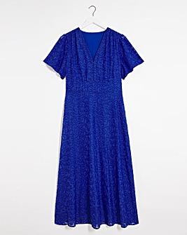 Joanna Hope Animal Burnout Dress