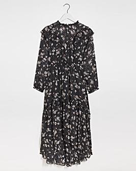 Joanna Hope Floral Frill Maxi Dress