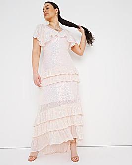Joanna Hope Sequin Bridal Maxi Dress