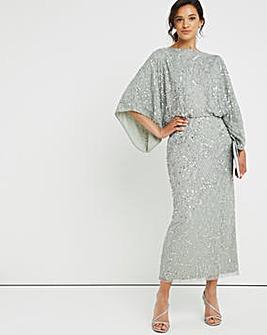Joanna Hope Batwing Beaded Bridal Dress