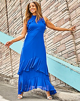 Joanna Hope Frill Maxi Dress