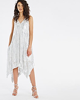 Joanna Hope Jacquard Swing Dress