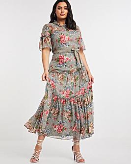 Joanna Hope Printed Maxi Dress