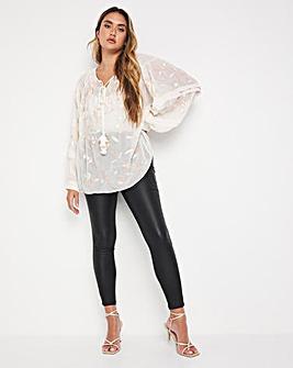 Jo Embellished Sequin Blouse